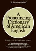 A Pronouncing Dictionary Of American English, Jacketed Hb