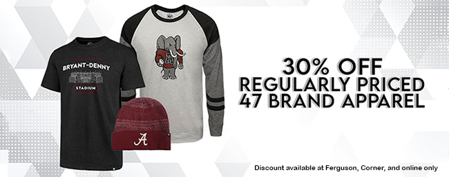 47 Brand 30% off while supplies last