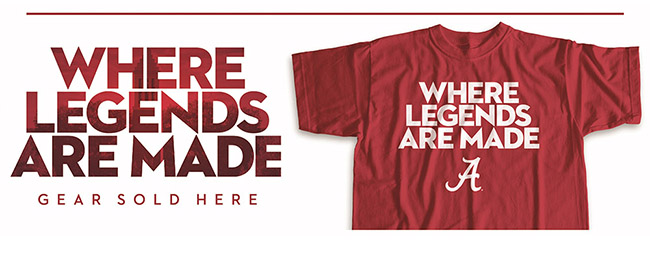 Shop the Supe Store licensed apparel for all of your Bama gear needs ... d1b509e6795d
