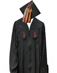 Click here to purchase the Bachelor's cap & gown