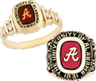 Click here to order the official University of Alabama class ring