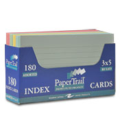 Index Card 3 X 5  Trayed Asst