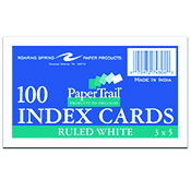 Index Card 3 X 5 Ruled
