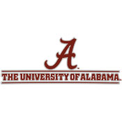 Alabama Decal Script A Bar