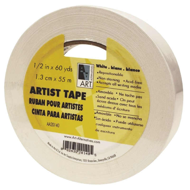 Tape Artist White 1/2 In (SKU 10786734218)
