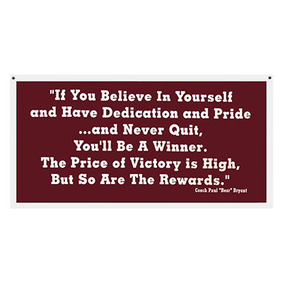 Pennant Banner If You Believe In Yourself