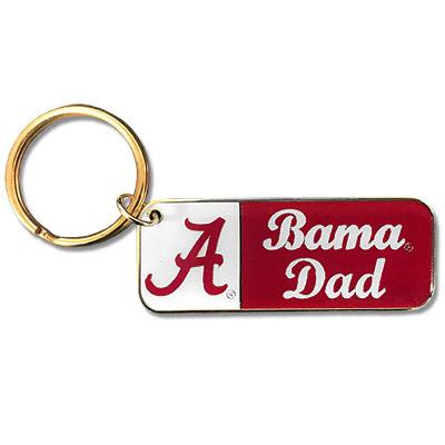Brass Key Tag Bama Dad