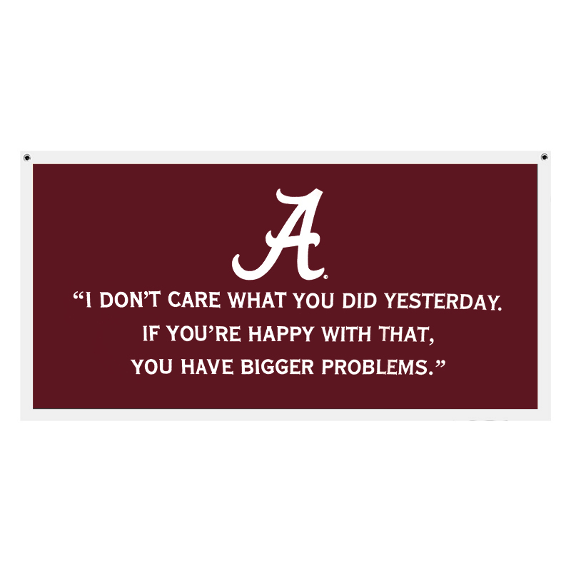 Banner Roll Tide With Script A (SKU 1116421024)