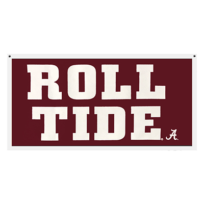 Banner Roll Tide With Script A