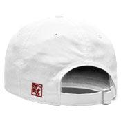 UNSTRUCTURED WHITE CAP BAR DESIGN IN CARDINAL U OF A