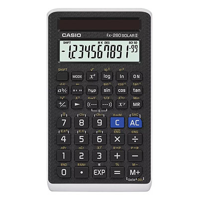 Calc Casio Fx-260 Virginia State Testing School