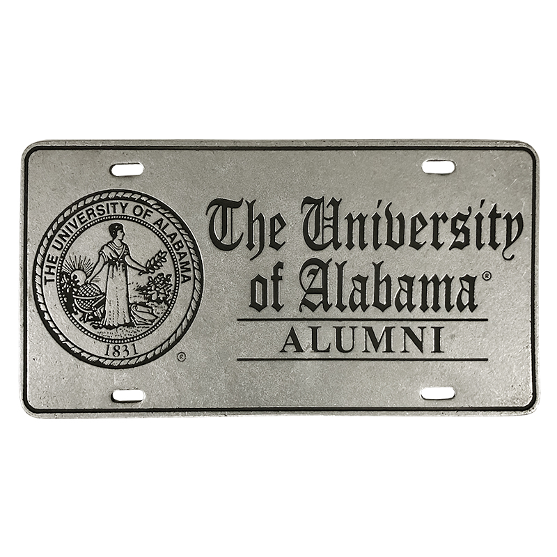 The University Of Alabama Alumni License Plate With Seal (SKU 11500605204)