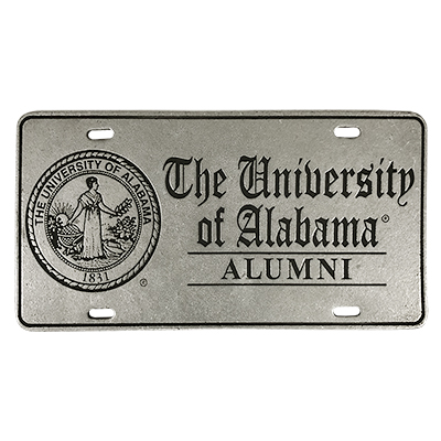 12C License Plate The Univ Of Ala Alumni 33016633