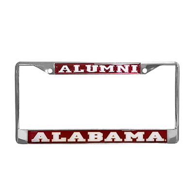 Domed Mirror Alumni Tag Frame