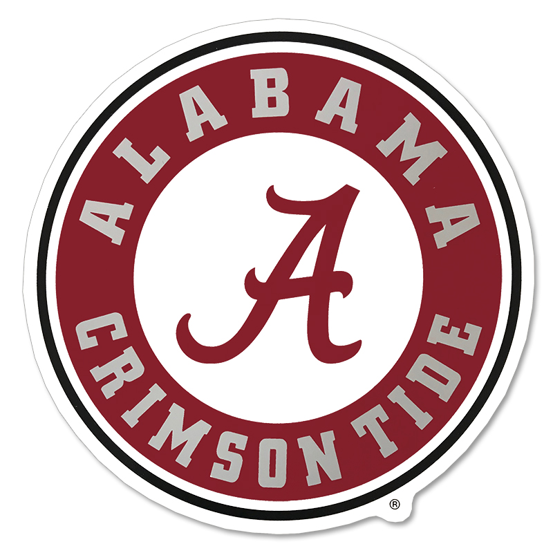 Alabama Decal Circle Logo (SKU 11599197115)