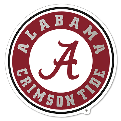 Alabama Decal Circle Logo