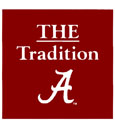 The Tradition Alabama Script A Decal