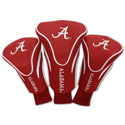 Alabama Golf 3 Pack Vinyl Sock Headcover