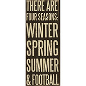 There Are Four Seasons:Winter, Spring, Summer & Football