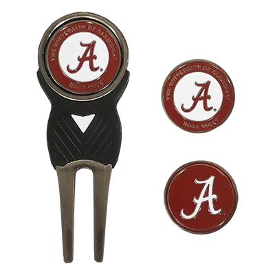 University Of Alabama Divot Tool With 3 Markers
