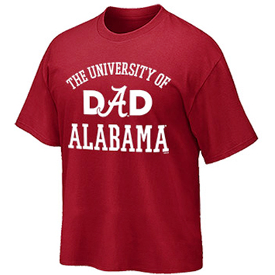 T-Shirt University Of Alabama Dad (SKU 12481682102)