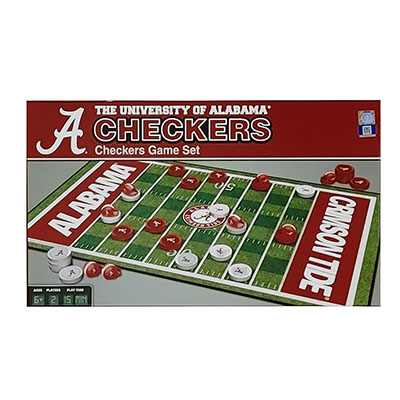 University Of Alabama Checker Set