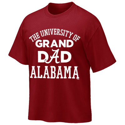 T-Shirt University Of Alabama Grand Dad