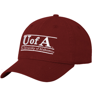 Unstructured Cap U Of A Bar Design