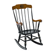 Pre-Order - Boston Rocker With Laser Engraved University Of Alabama Seal
