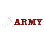 Army With Script A Decal