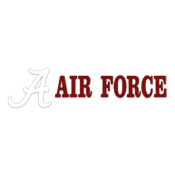 Air Force With Script A Decal