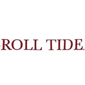 UNIVERSITY OF ALABAMA ROLL TIDE VINTAGE WASH LONG SLEEVE POCKET T-SHIRT