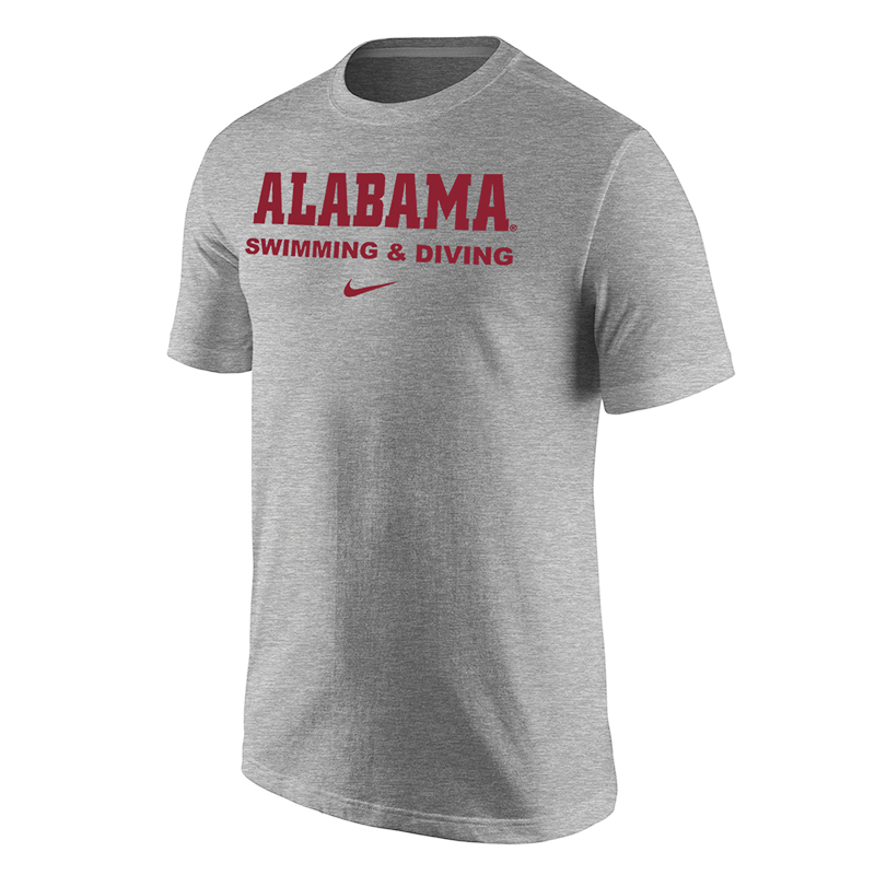 Alabama Swimming And Diving T-Shirt (SKU 12812868158)