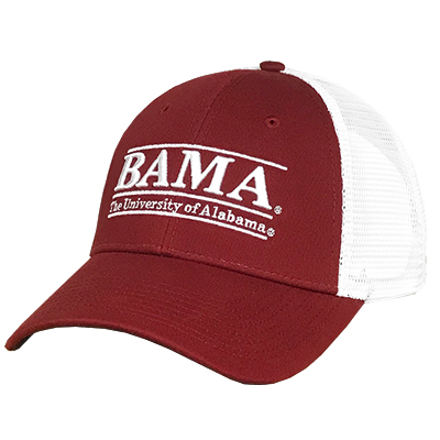 Cap Low Profile Trucker Bama Bar