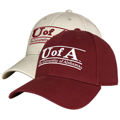 Cap Low Profile Twill U Of A Bar