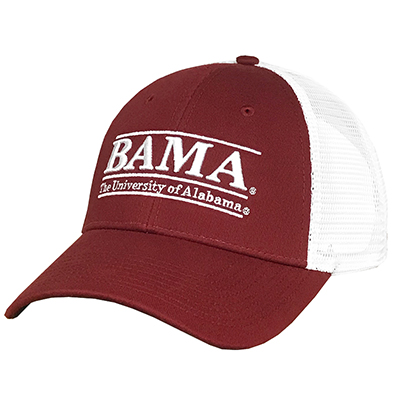 Cap Youth Trucker Bama Bar