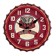 Alabama Bottle Cap Clock