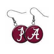 Dangle Earrings With Script A