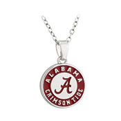 Alabama Crimson Tide Circle Logo Necklace