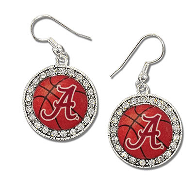 Alabama Domed Earring Round