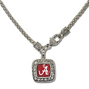 Alabama Domed Necklace Square
