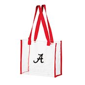 Clear Stadium Bag With Black Script A