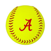 Alabama Softball With Script A
