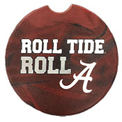 Alabama Car Coaster Roll Tide