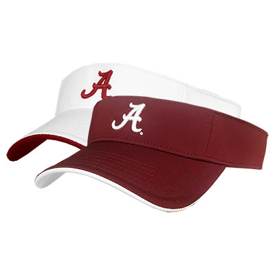 Alabama Velcro Visor With Script A
