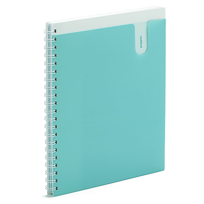 Poppin Notebook 3 Subject Aqua