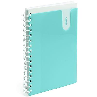 Poppin Notebook Medium Aqua