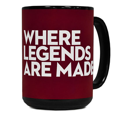 Black El Grande Mug Where Legends Are Made