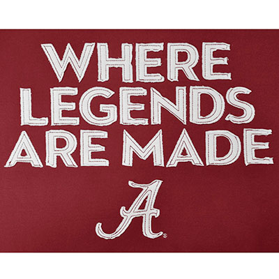 WHERE LEGENDS ARE MADE HOODIE