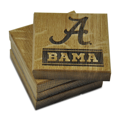 Alabama Coaster Set Bama
